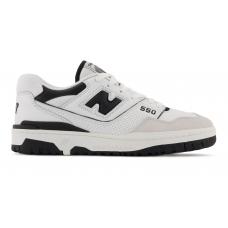 Кроссовки New Balance 550 белые с черным