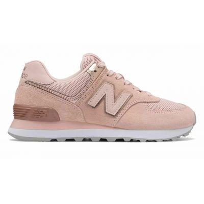 New Balance 574 розовые