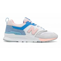 Кроссовки New Balance 997h женские розовые с голубым