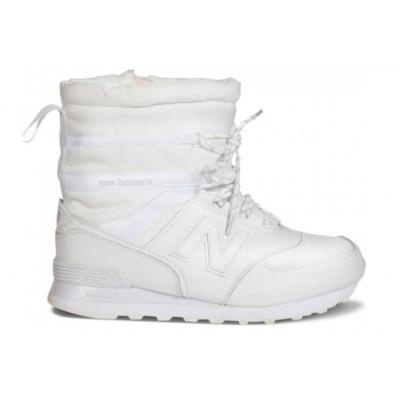 Зимние ботинки New Balance белые