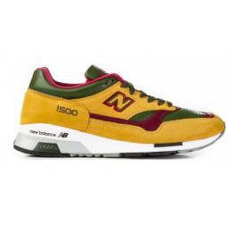 Кроссовки New Balance 1500 желтые мульти