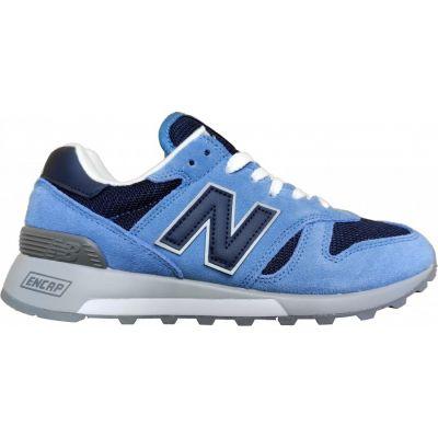 New Balance кроссовки голубые с синим