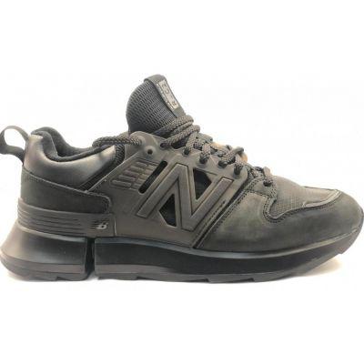 New Balance кроссовки 990 моно черные
