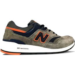 New Balance кроссовки 997 серо-синие