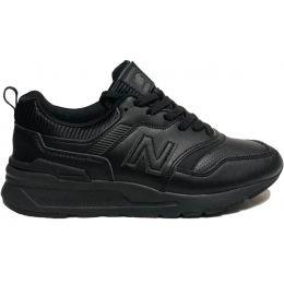 New Balance кроссовки 997 кожаные черные