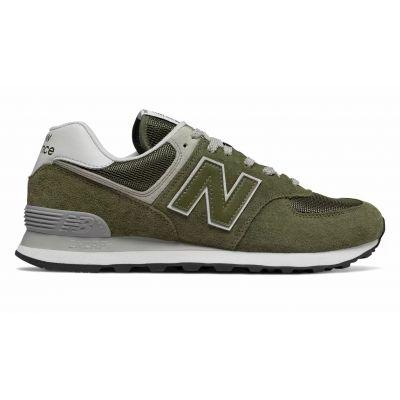 Кроссовки New Balance женские 574 темно-зеленые