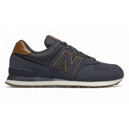 Кроссовки New Balance женские 574 синий с коричневым