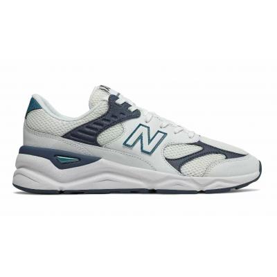 Кроссовки New Balance Х-90 белые с синим