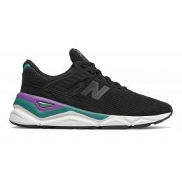 Кроссовки New Balance Х-90 черные с фиолетовым