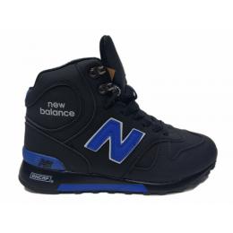 Кроссовки New Balance 1300 черно-синие зимние