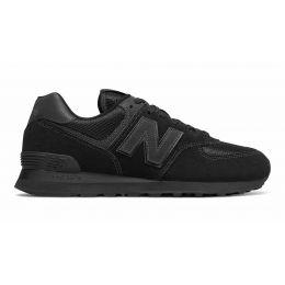 New Balance 574 моно черные
