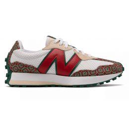 New Balance кроссовки женские 327 красно-белые