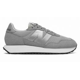 New Balance кроссовки женские 327 серые с серебряным
