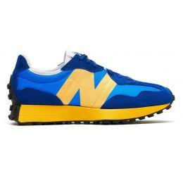 New Balance кроссовки женские 327 синие с желтым