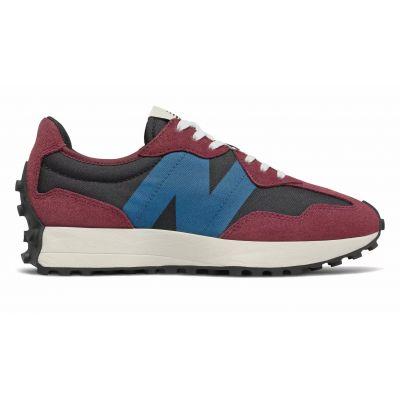 New Balance 327 красные с синим