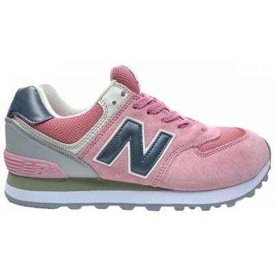 Кроссовки New Balance (Нью Баланс)  розовые женские (36-41)