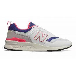 Кроссовки New Balance 997h серо-синие с красным