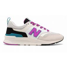 Кроссовки New Balance 997h бежево-розовые