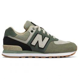 Кроссовки New Balance 574 темно-зеленые