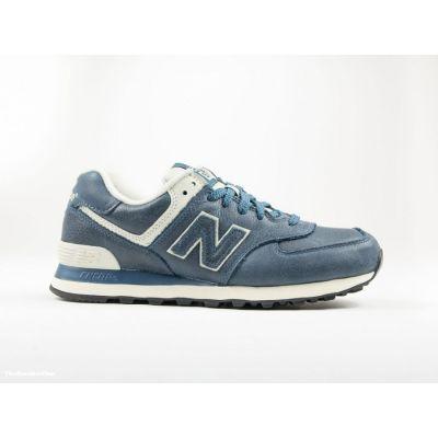 Кроссовки New Balance 574 серо-голубые