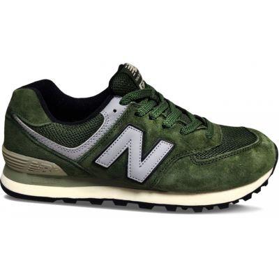 Кроссовки New Balance 574 мужские зеленые