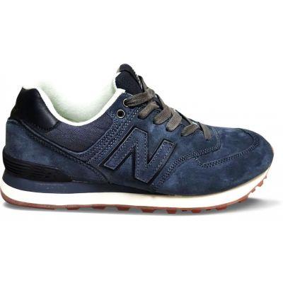 Кроссовки New Balance 574 мужские черно-синие