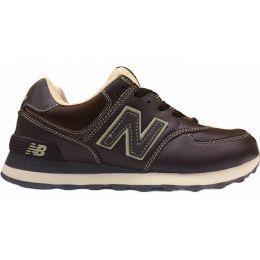Кроссовки New Balance мужские Коричневые кожаные (40-45)