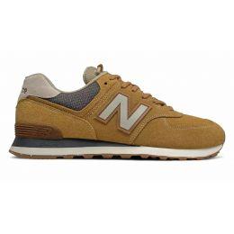 Кроссовки New Balance 574 мужские коричнево-серые