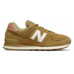 Кроссовки New Balance 574 мужские коричнево-бежевые