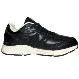 Кроссовки New Balance 990 V4 кожаные черные