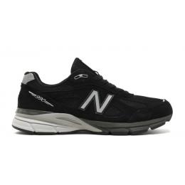 Кроссовки New Balance 990 V4 замшевые черные
