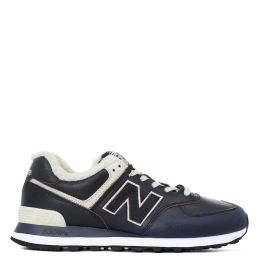 Кроссовки New Balance 574 мужские темно-синие с белым