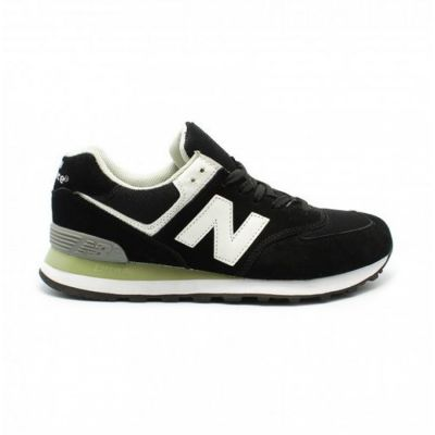 Кроссовки New Balance 574 мужские черные с белым