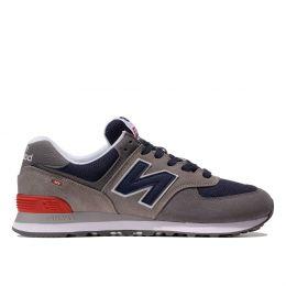 Кроссовки New Balance 574 мужские коричнево-синие