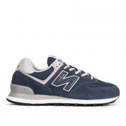 Кроссовки New Balance 574 мужские сине-серый с песочным