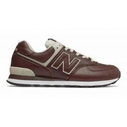 Кроссовки New Balance 574 мужские темно-красные