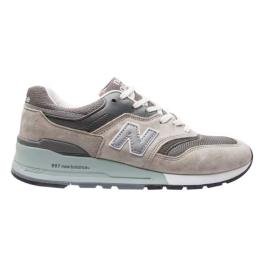 Кроссовки New Balance 997 Sport USA серые с белым
