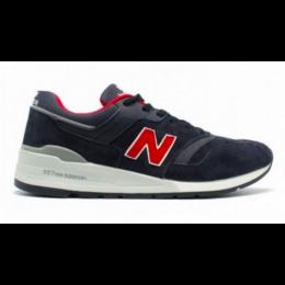 Кроссовки New Balance 997 Sport USA синие с красным