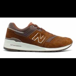 Кроссовки New Balance 997 Sport USA коричневые