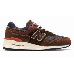 Кроссовки New Balance 997 Made in US Elevated Basics коричневые