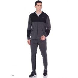 Спортивный костюм New Balance черный с серым