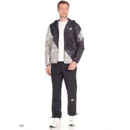 Спортивный костюм New Balance черно-серый
