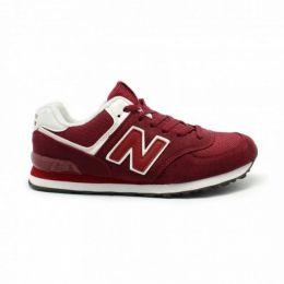 Кроссовки New Balance 574 мужские красные