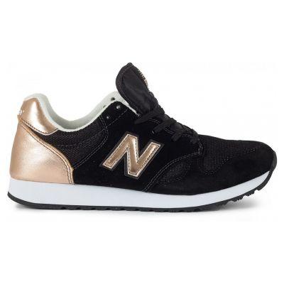 Кроссовки женские New Balance Черно-золотые (36-41)