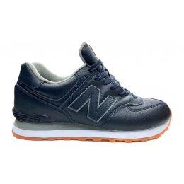 Кроссовки женские New Balance 574 мужские темно-синие