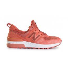 Кроссовки New Balance женские Оранжевые (36-41)