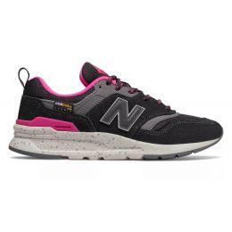Кроссовки New Balance 997 Cordura женские розово-черные