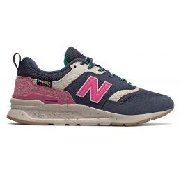 Кроссовки New Balance 997 Cordura женские сине-розовые