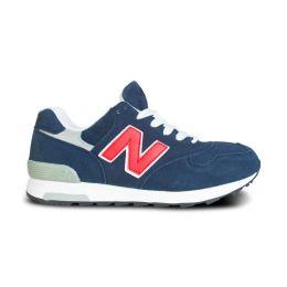 Кроссовки New Balance 1400 мужские Синие с красным (40-45)