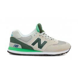 New Balance мужские Серо-зеленые (40-45)